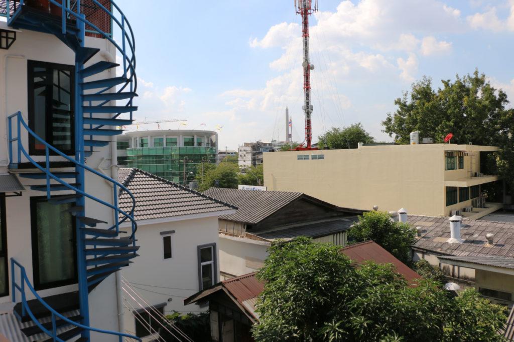 Ausblick vom Hostel